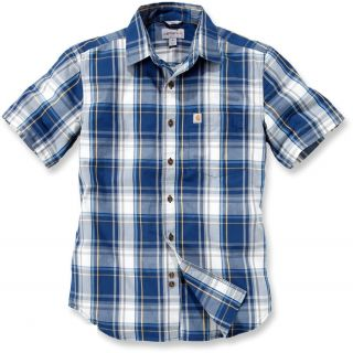 Carhartt 102548 Slim Fit Plaid Short Sleeved Shirt