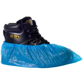 "Overshoes Disposable Polythene 16"" and 14"" (2000): 16610"