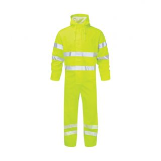 Fortress Castle Air Flex Waterproof High Vis Coverall: 351