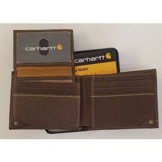 Carhartt Peeble Passcase Wallet 61-2201 with presentation case