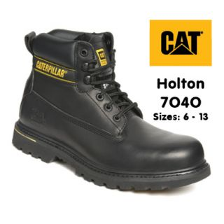CAT Holton 7040 Black Safety Boot
