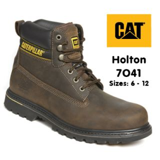 CAT Holton 7041 Brown Safety Boot