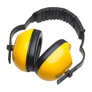 Ear Defender Advanced Padded Yellow SNR 28: 8H130