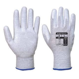 Antistatic PU Palm Glove: A199