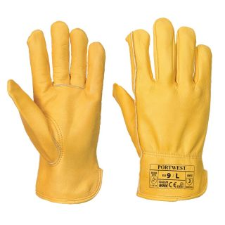 Drivers Hide Leather Glove: A270