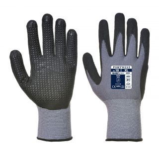Portwest Dermiflex Plus Grip PU/Nitrile Foam Glove: A351