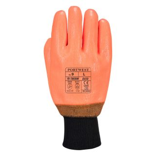 Weatherproof cold use or freezer glove: A450