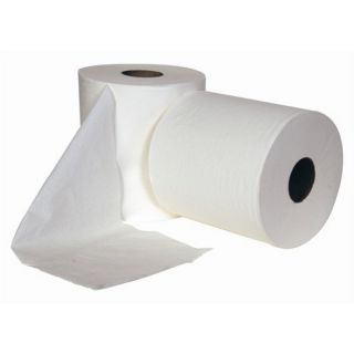 Centrefeed Roll: 2 ply 6 x 150mtr White: AF114
