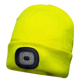Beanie LED Head Light USB Rechargeable: B029