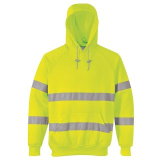 Hi-Vis Hooded Sweatshirt: B304