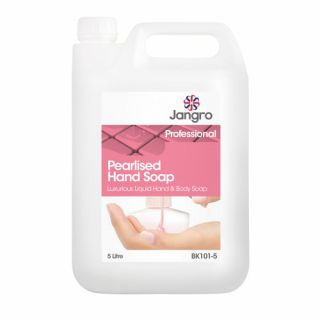 Pearlised Hand & Body Soap 5ltr: BK101-5