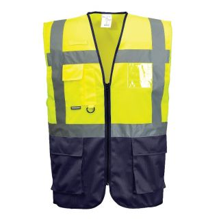 High Vis 2 Tone Executive Vest: C476