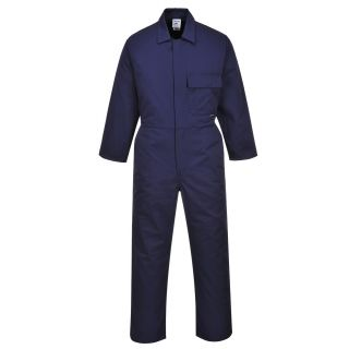 C802: Portwest Standard Poly/Cotton Boilersuit