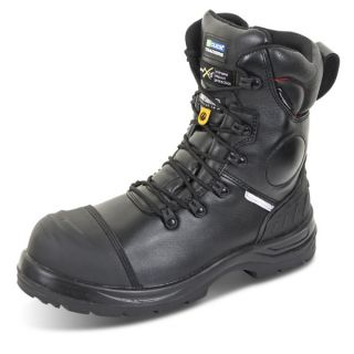 Click Trencher Plus Side Zip Safety Boot: CF67BL