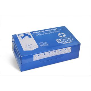 Blue Assorted Detectable Plasters: CM0500