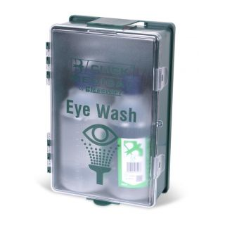 Boxed Eyewash Station with 2 x 500ml Eyewash & Eyepads: CM0700