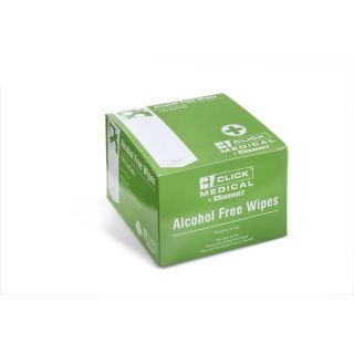 Alcohol Free Medical Wipes (100) CM0800