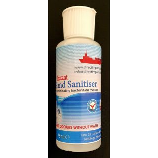 DIAG075: Alcohol Hand Sanitiser (75ml)