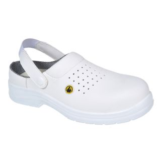 Portwest Composite Lite Perforated ESD Safety Clog: FC03