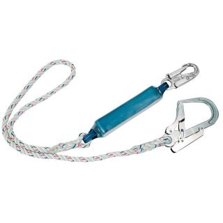 Single Lanyard With Shock Absorber: FP23