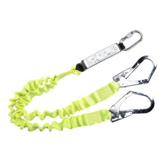 FP52 - Double Lanyard Elasticated With Shock Absorber