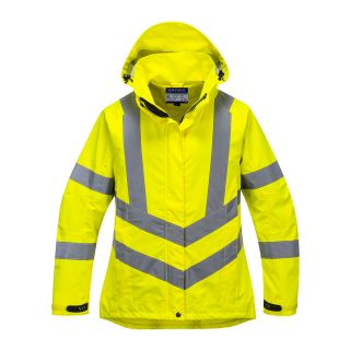 Ladies Hi-Vis Breathable Jacket: LW70