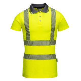 Ladies High Vis Pro Polo Shirt: LW72