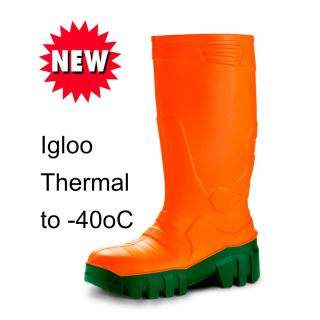 Mavinsa Orange Igloo Polyurethane Safety Wellington