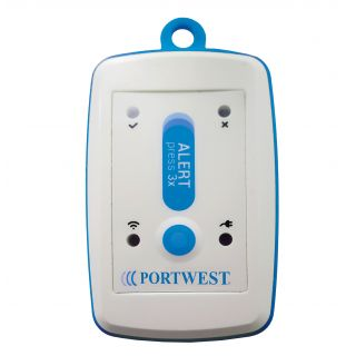 Portwest GPS Lone Worker Personal Alarm Safety Device: PB10