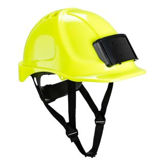 Endurance Safety Helmet with Badge Holder: PB55