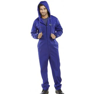 Click Hooded Poly/Cotton Coverall: PCBSHCAR