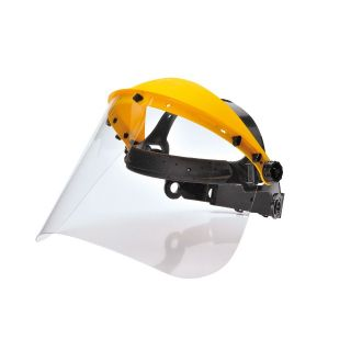 Browguard with clear visor screen. PW91