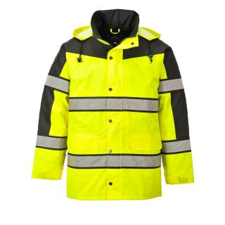 Hi-Vis Classic Two Tone Jacket: S462