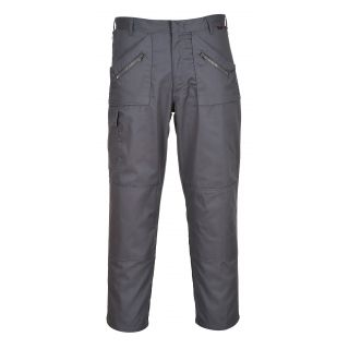 Portwest Action Trouser: S887 - Black and Navy