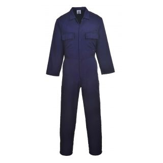 Stud Front Poly/Cotton Boilersuit: S999