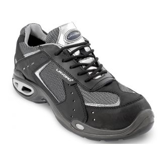 Lavoro Silver Indy Black Safety Trainer: 1276.70