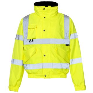 Breathable High Vis Bomber Jacket 37B4