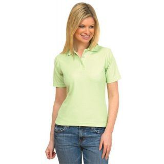 Ladies Uneek Poly/Cotton Polo Shirt: UC106 Lime model