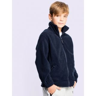 Children's Full Zip Micro Fleece Jacket: UC603