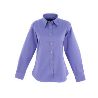 Uneek Ladies Pinpoint Oxford Full Sleeve Shirt: UC703